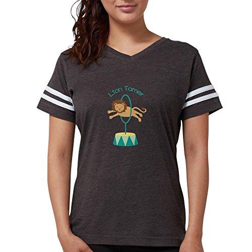 CafePress - Lion Tamer T-Shirt - Womens Football Shirt Smoke Grey]()