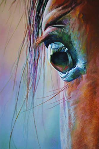 CREATIVE THINKING - Fine Art Horse Print 12 x 18 Inch from P