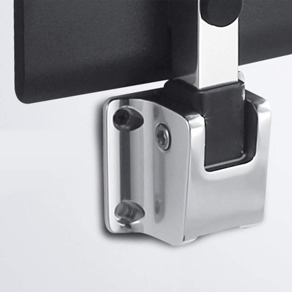 Negro B Baosity 1 pc Silla de Pared Plegable Accesorios para Ducha Ba/ño Tocador de metal