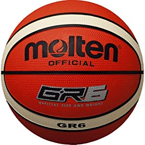 molten Basketball, Orange/Ivory, 5, BG5-ST