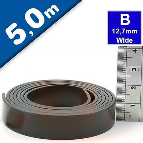 Ruban Magn/étique Adh/ésif Magn/étique Bande Magn/étique Autocollante 2mm x 25mm x 3m