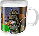 Dogs Playing Poker 1903 C.M.Coolidge Acrylic Kids Mug