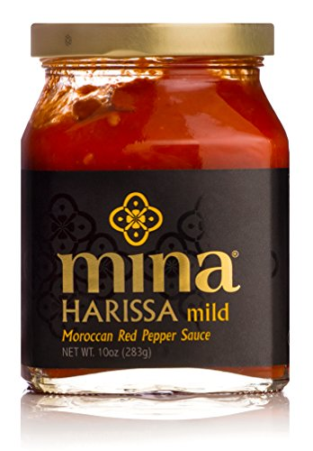 - Mina Harissa Mild Moroccan Red Pepper Sauce, 10 Ounce