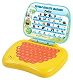 Prasid Lovely English Learner Kids Laptop, Lemon/Orange