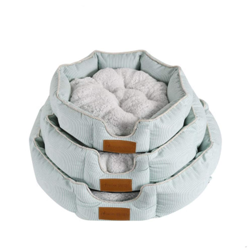 L Gperw Country Pet Luxury Dog Bed (Choose From A Range Of Sizes) Hand Crafted From The Finest Tweed Fabric Non Slip Cushion Pad (Size   L)