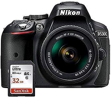 Nikon D5300 - Cámara Réflex Digital + Objetivo AF-P DX NIKKOR ...