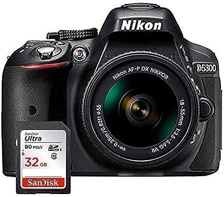 Nikon D5300 - Cámara Réflex Digital + Objetivo AF-P DX NIKKOR 18 ...
