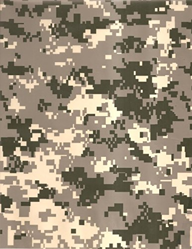 Hydrographics Film - Water Transfer Printing Film - 2 Meter Length Military Camoflage Film - Water Transfer Film by Colorful Hydrographics Coating