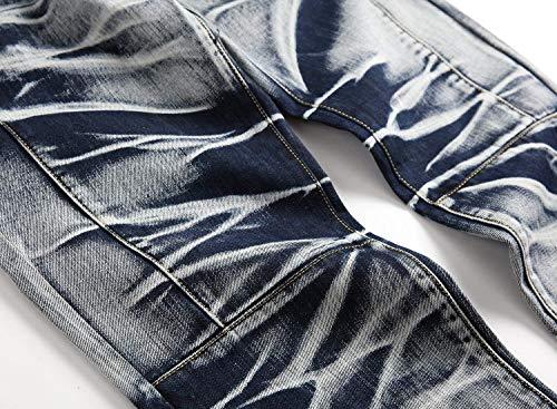 Vita Uomo Tough Classiche Tasche Jeans Da A Ragazzi High Pantaloni Vintage grau 518 Denim Casual wRqqx4IP