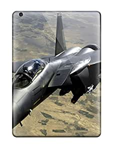 For Ipad Air Premium Tpu Case Cover Air Force F 15e Strike Eagle Aircraft Protective Case