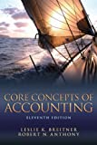 Core Concepts of Accounting 11th Edition
