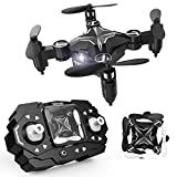 TENKER Mini RC Drone for Kids, Portable Pocket Quadcopter with Altitude Hold Mode, One-Key Take-Off & Landing, 3D Flips and Headless Mode, Easy to Fly for Beginners