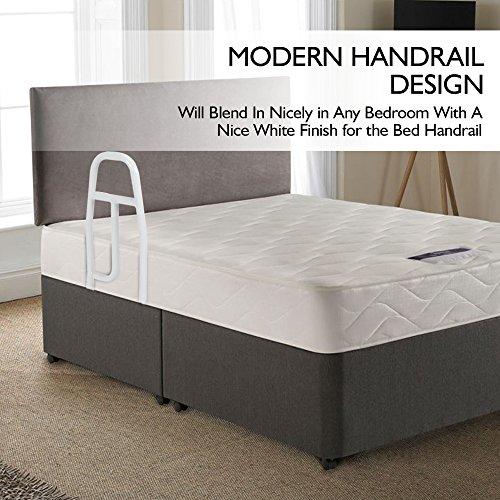bed rails for elderly adults medokare hospital grade safety import it all. Black Bedroom Furniture Sets. Home Design Ideas