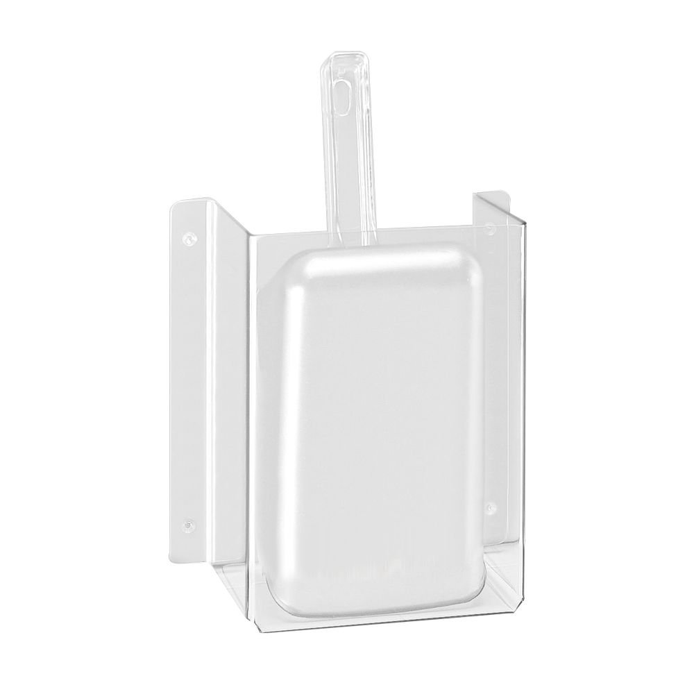 Cal-Mil 623 Scoop Guards, Polycarbonate, 6'' Length, 3'' Width, 10.25'' Height, Clear