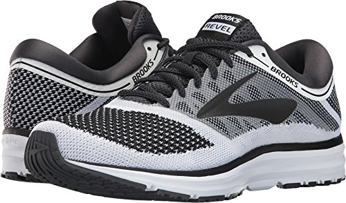 f7778c7c68c Galleon - Brooks Men s Revel White Anthracite Black 11.5 D US