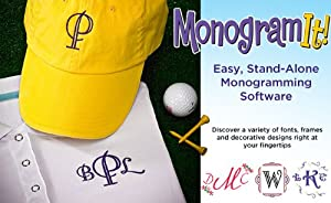 "Amazing Designs Monogram ""It Stand Alone"" Monogramming Software"