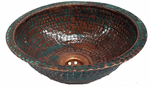 Egypt gift shops Handmade Dome Oxidized SMALL Narrow Places Vanity Innovation Copper Bath Sink House Remodel by Egypt Gift Shops