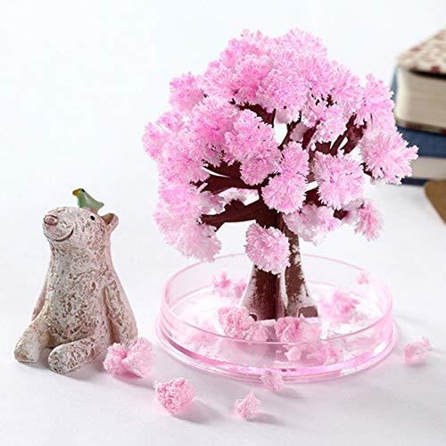 Flowering Trunk (Canghai Magic Flowering Paper Tree Cherry Blossom Tree Creative Christmas Decoration Tree)