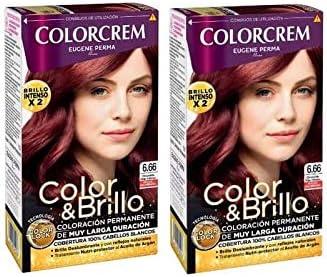 Colorcrem Tinte 2X1 6.66 Chocol Roj 1000 gr: Amazon.es: Belleza