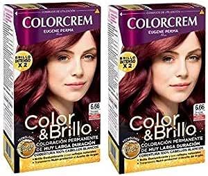 Colorcrem Tinte 2X1 6.66 Chocol Roj 1000 gr: Amazon.es ...