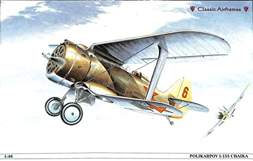 Used, Classic Airframes 1:48 Polikarpov I-153 Chaika Plastic for sale  Delivered anywhere in USA