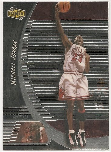 Michael Jordan 1998-99 UD Ionix Chicago Bulls Card #13