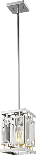 6006MP-BN Brushed Nickel Mersesse Single Light 6-1 4 Wide Mini Pendant