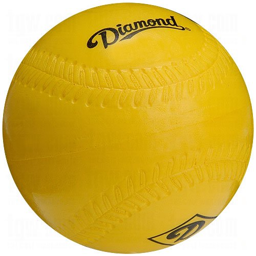 Diamond Foam Practice Softballs 12 Ball Pack by Diamond Sports