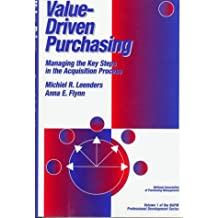 Amazon michiel leenders books value driven purchasing managing the key steps in the acquisition process fandeluxe Images