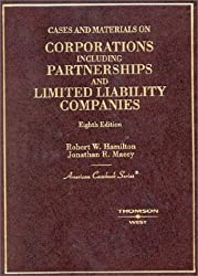 Cases and Materials on Corporations, Including Partnerships and Limited Liability Companies (American Casebook Series)