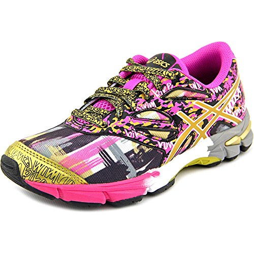 ASICS Gel Noosa Tri 10 GS GR Triathlon Shoe , Pink Glow/Gold