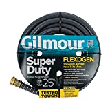 Gilmour Flexogen Super Duty Garden Hose Gray 5/8 inch x 25 feet 874251-1001