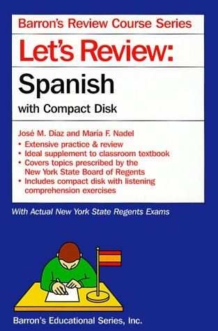 Spanish Compact - Let's Review: Spanish With Compact Disk (Barron's Review Course Series) (Spanish Edition)