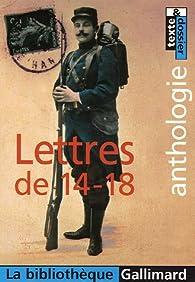 Lettres de 14-18 par Lucile Sévin