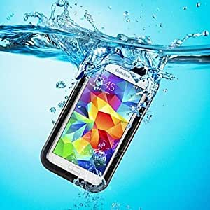 LCJ Premium Waterproof Shockproof Dirt Snow Proof Durable Case Cover For GALAXY S5 (Assorted Color) , Blue