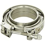"Vibrant 1491 3"" Stainless Steel V-Band Flange Assembly"