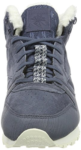 Reebok Women's Cl Lthr Arctic Boot Fitness Shoes Blue (Smoky Indigo/Collegiate Navy/Fresh Blue/Chalk) iYyR8O4
