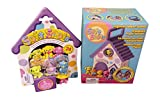 Soft Spots Playset Gift Set Includes 5 Puppy Pack & Portable Playhouse (Figures Vary Per Package)