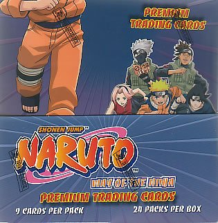 NARUTO WAY OF THE NINJA TRADING CARD BOX BY INKWORKS (24 Packs/Box 9 Cards/Pack) Panini