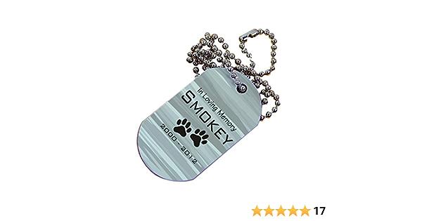 Doberman Pinscher Stethoscope ID Tag Leather Dog Doctor Nurse Veterinarian Custom Pet Loss Pet Sympathy Dog   Memorial Gift Birthday Gift