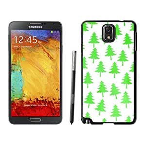 Popular Sell Bright Green Christmas Tree Samsung Galaxy Note 3,Samsung N9005 Black TPU Cover Case