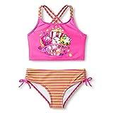 Shopkins Girls' Two Piece Tankini Swimsuit (4-6X)