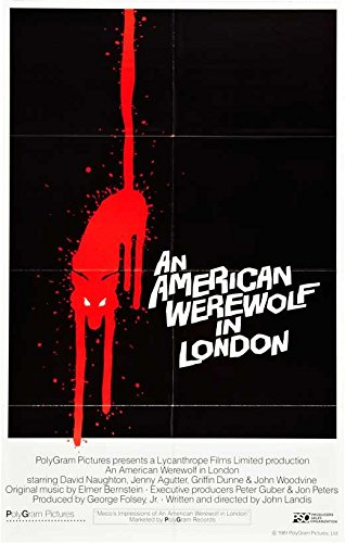 american werewolf in london poster