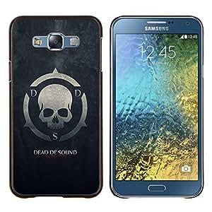 LECELL--Funda protectora / Cubierta / Piel For Samsung Galaxy E7 E700 -- Muerto De Sonido DDS --
