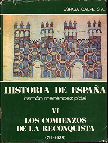 España cristiana: comienzo de la Reconquista 711-1038: Amazon.es: Pérez de Úrbel, Justo: Libros