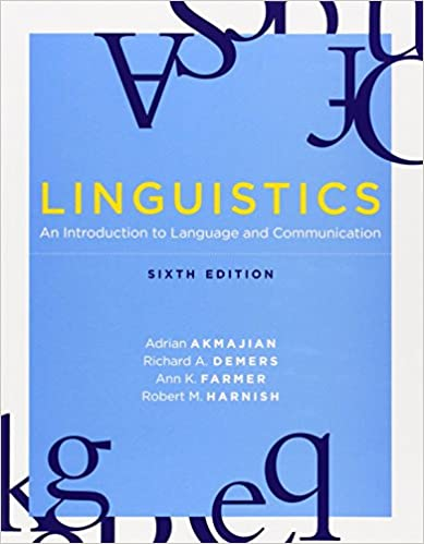 Amazon linguistics an introduction to language and linguistics an introduction to language and communication 6th edition the mit press sixth edition edition fandeluxe Choice Image