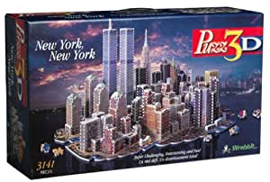 Puzz 3D New York, New York - 3,141 pieces