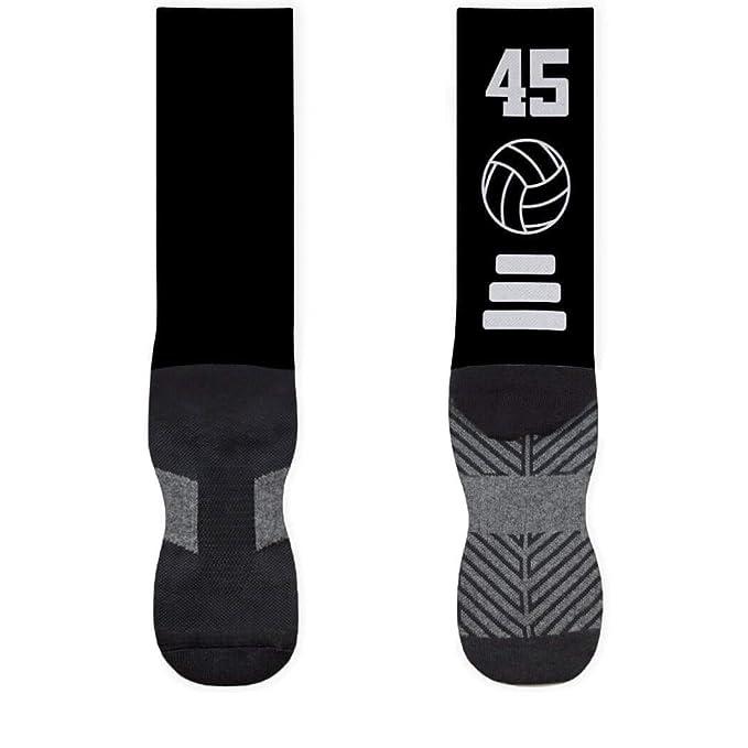 Amazon.com: Voleibol colores del equipo calcetines de ...