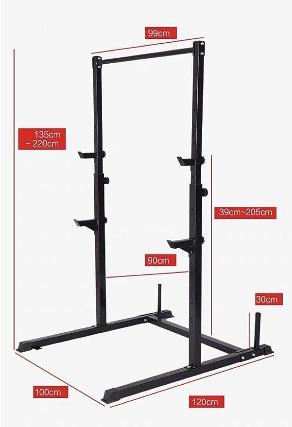 Pull up Fitness Rack - Black
