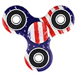 Lizber Fidget Spinner, Best Hand Spinner for Fidgeters, Anti-Anxiety Tri-Spinner Fidget Toy with Smooth Finished, Best Stress Reducer Toy for ADHD, ADD, Autism, and Killing Time